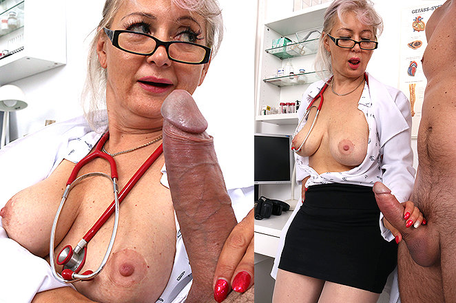 Sexy lady doctor Alena