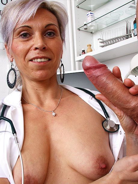 Hot female doctor Beate U