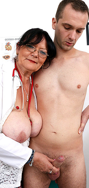 Sexy nurse Berta