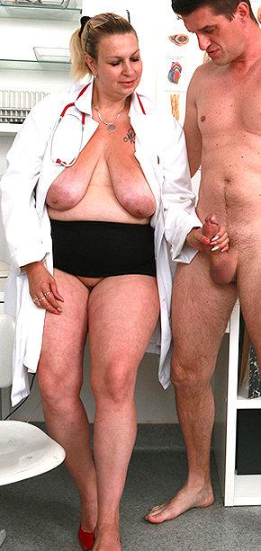 Sexy nurse Blanka