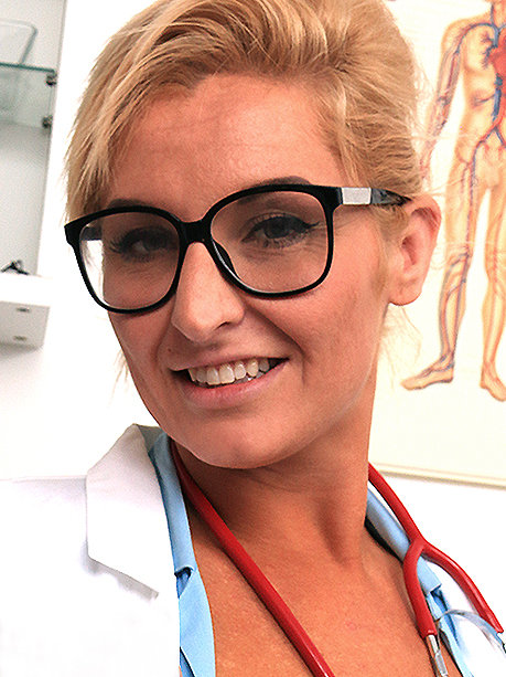 Hot female doctor Brigitta M