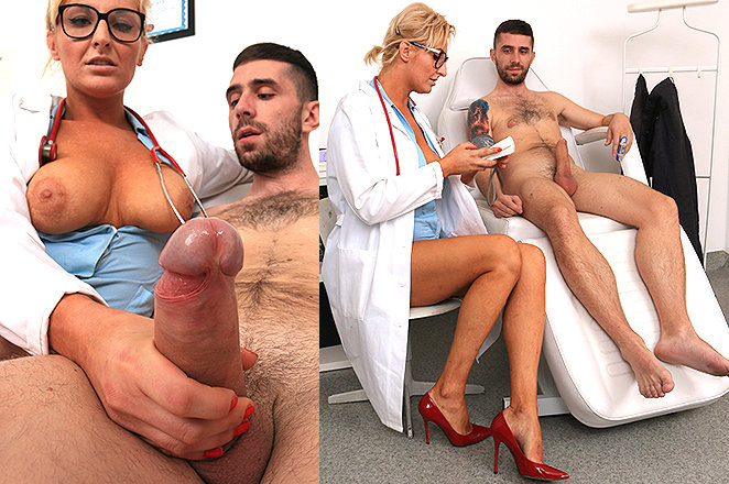 Sexy lady doctor Brigitta M