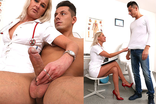 Sexy lady doctor Bruna M