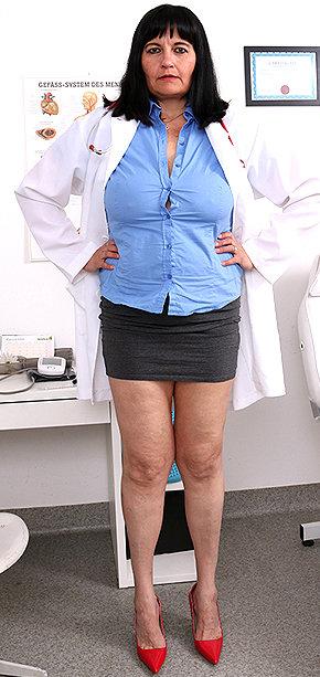 Sexy nurse Dagmar