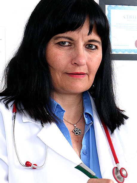 Hot female doctor Dagmar C