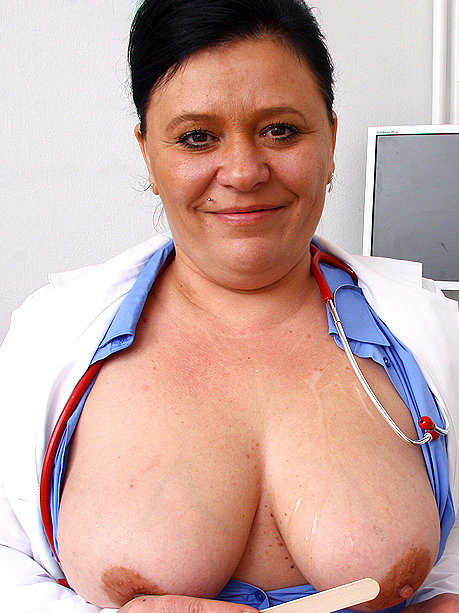 Hot female doctor Danica H