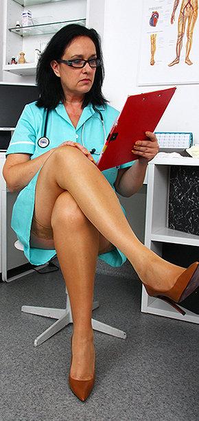 Sexy nurse Danielle