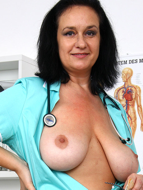 Hot female doctor Danielle K