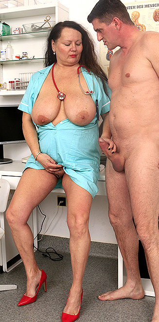Milf doctor Edith B