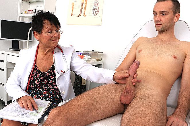 Sexy lady doctor Elma C