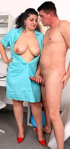 Sexy nurse Elvira