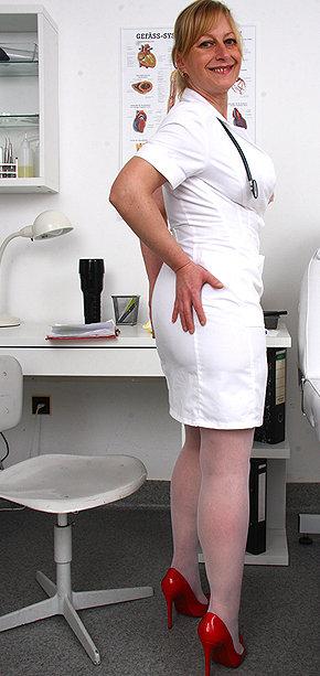 Sexy nurse Gabina