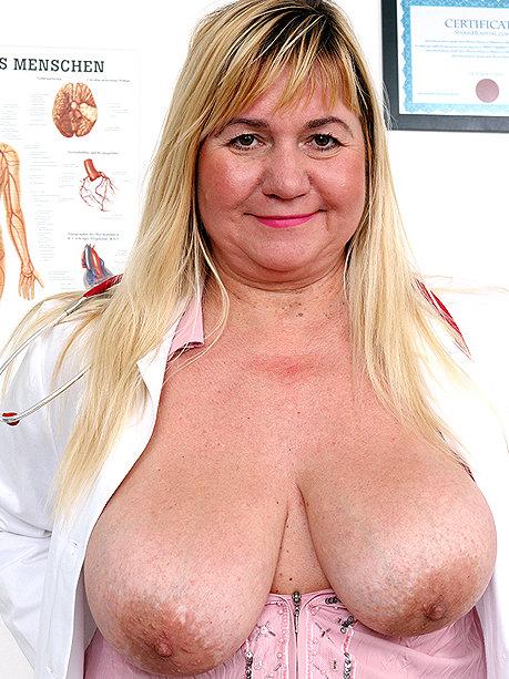 Horny granny patient seduces a black doctor - 1 part 3