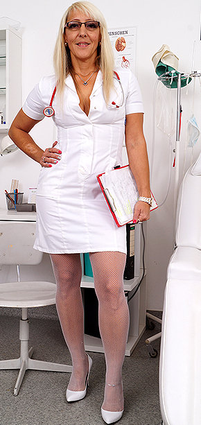 Sexy nurse Marketa