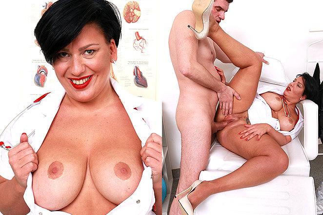Sexy lady doctor Melanie T