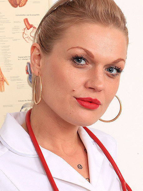 Hot female doctor Melita K
