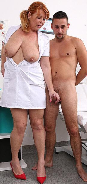 Sexy nurse Moira