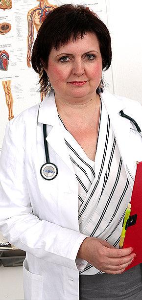 Sexy nurse Tanya