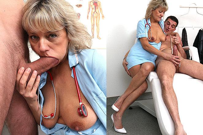 Sexy lady doctor Viola B