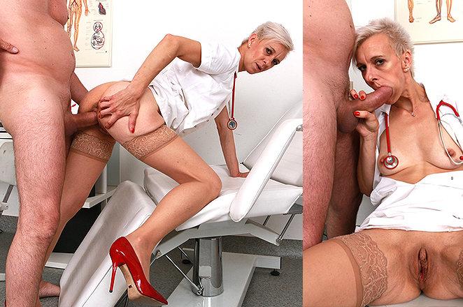Sexy lady doctor Zita M