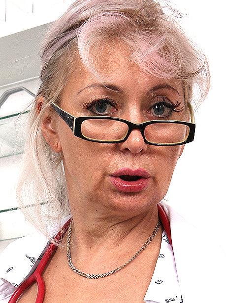 Hot female doctor Alena