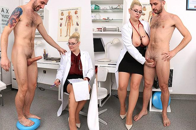 Sexy lady doctor Alexa Bold