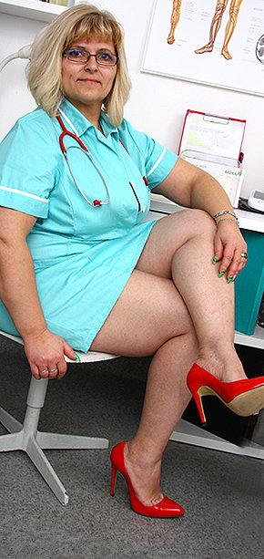 Sexy nurse Anna