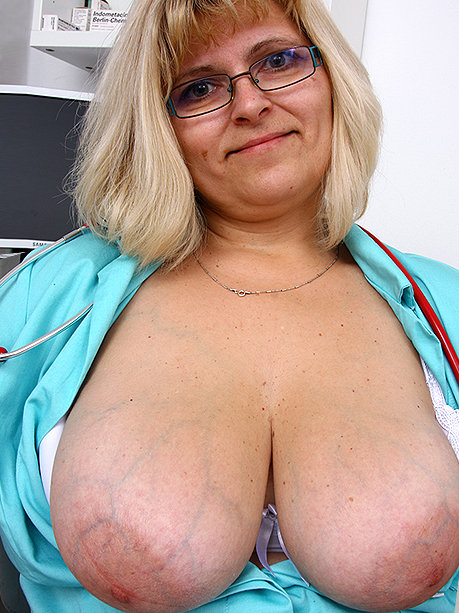Hot female doctor Anna M