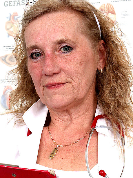 Hot female doctor Astrid F