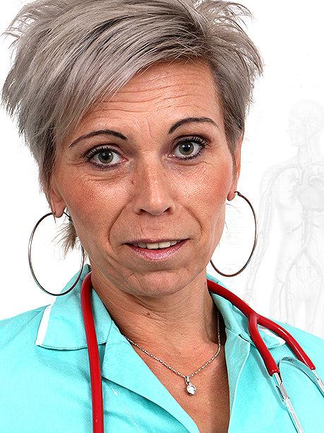 Hot female doctor Beate U