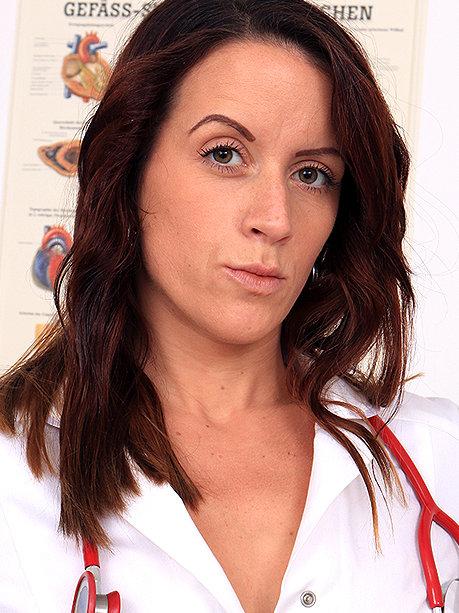 Hot female doctor Beba K