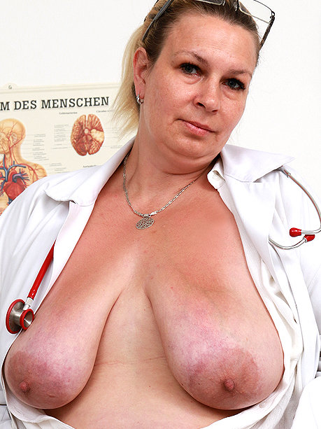 Hot female doctor Blanka S