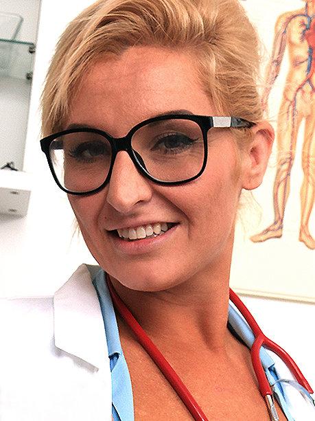 Hot female doctor Brigitta M