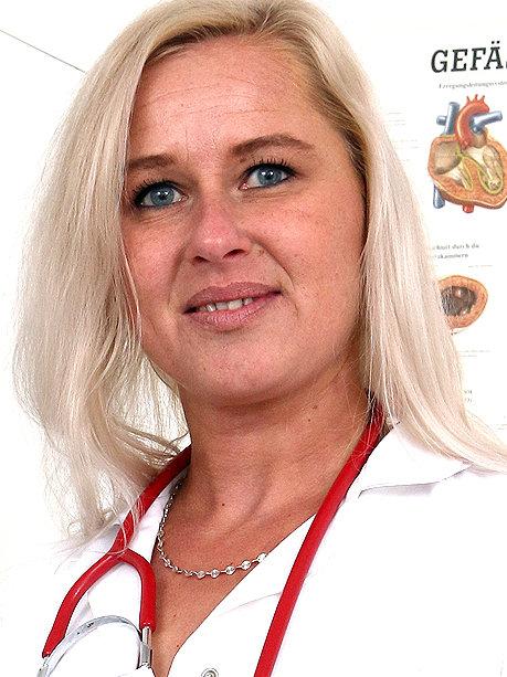 Hot female doctor Bruna M