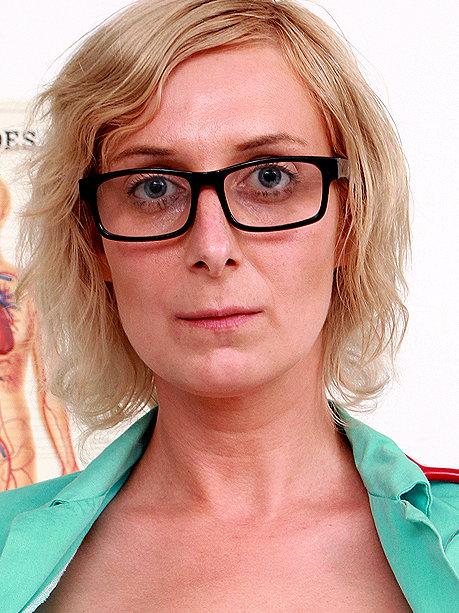 Hot female doctor Christa C
