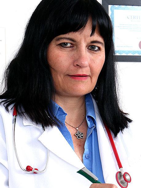 Hot female doctor Dagmar C