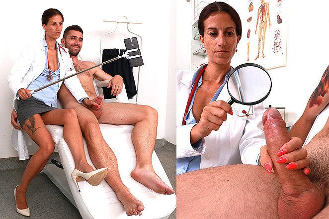 Sexy lady doctor Danuta V