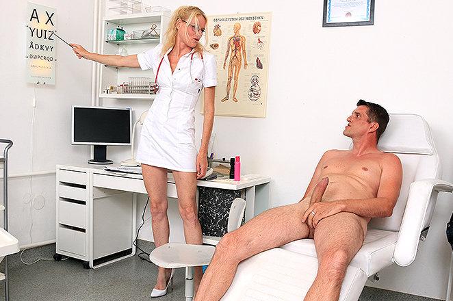 Sexy lady doctor Debora V