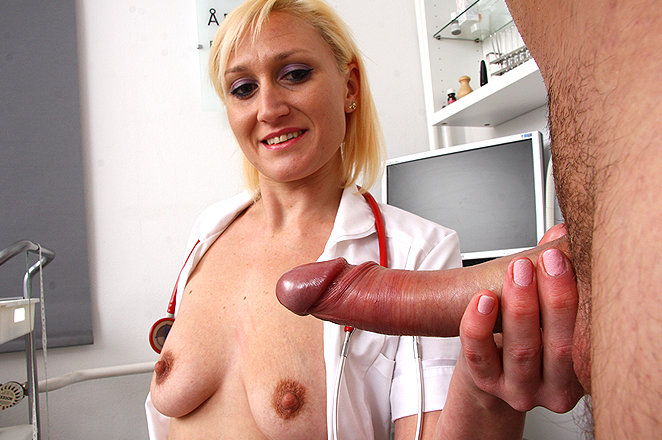 Sexy lady doctor Dita V