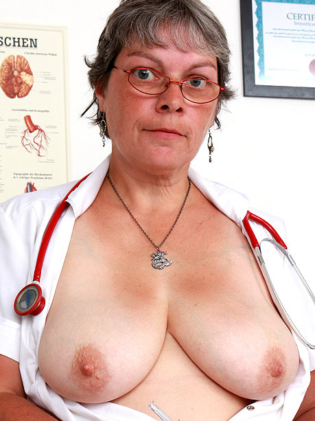 Hot female doctor Doris W
