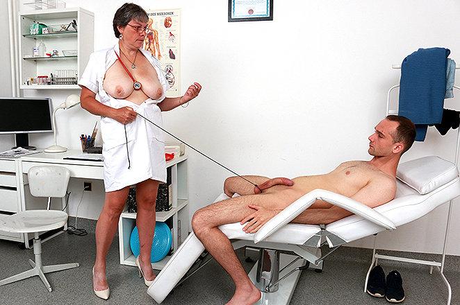 Sexy lady doctor Doris W