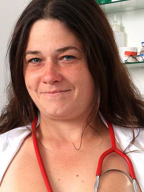 Hot female doctor Edina H