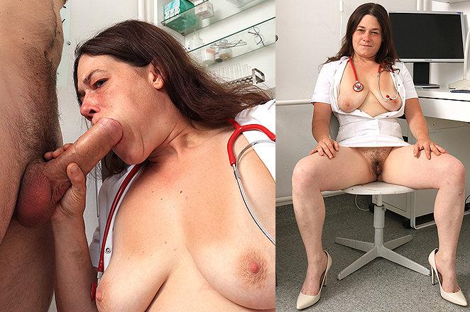 Sexy lady doctor Edina H