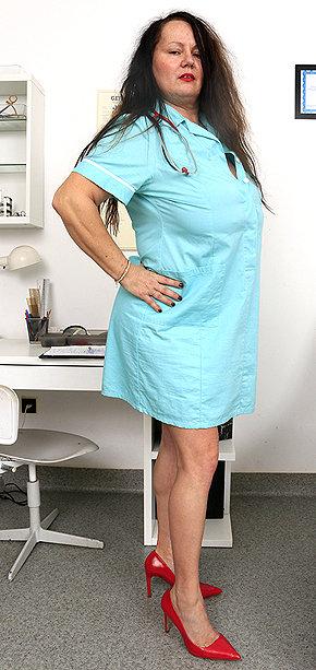 Sexy nurse Edith