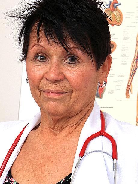 Hot female doctor Elma C