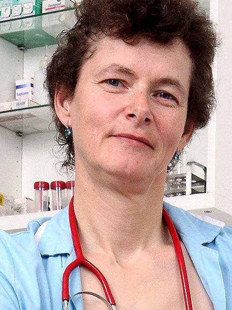 Hot female doctor Erma P