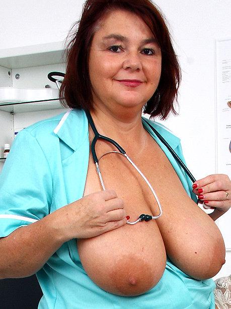 Hot female doctor Eva R