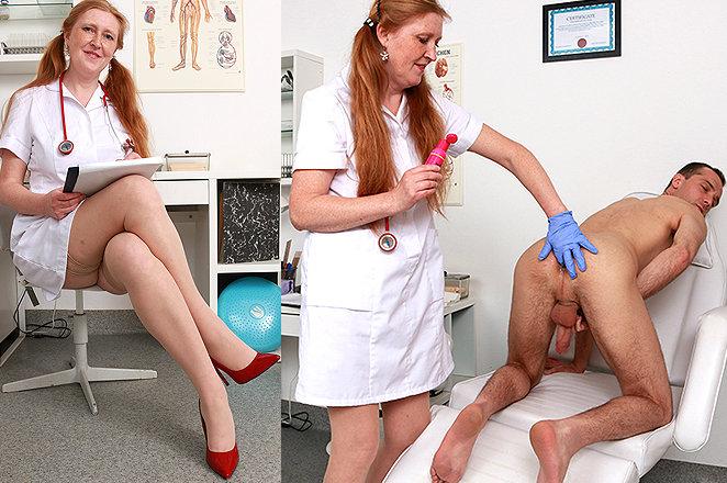 Sexy lady doctor Fabia M