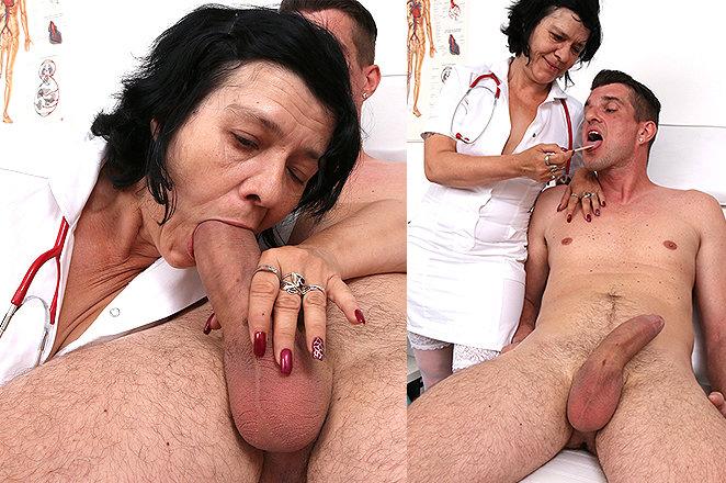 Sexy lady doctor Flavia C