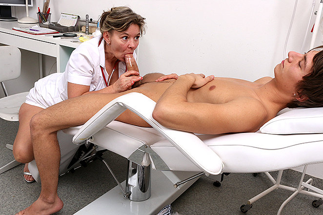 Sexy lady doctor Frida C